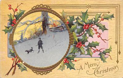 xms002855 - Christmas Day Postcard