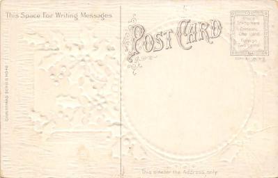 xms002855 - Christmas Day Postcard  back