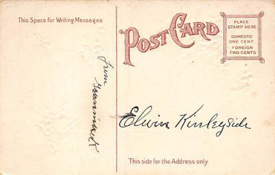 xms002959 - Christmas Day Postcard  back