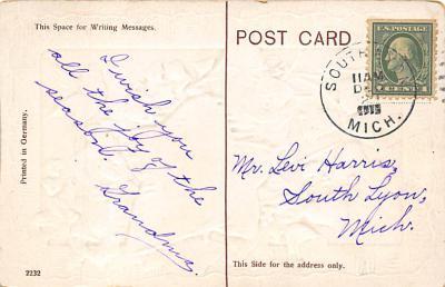 xms002981 - Christmas Day Postcard  back