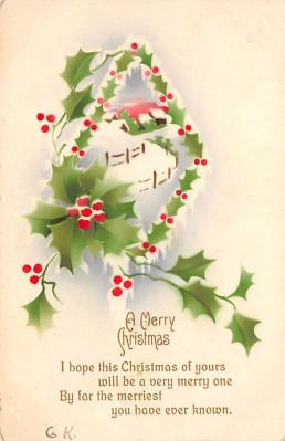 xms002987 - Christmas Day Postcard