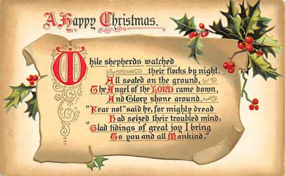 xms003107 - Christmas Post Card
