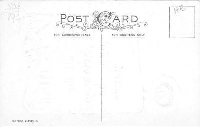 xms004097 - Christmas Holiday Postcard Vintage Xmas Post Card  back