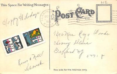 xms005195 - Christmas Postcard  back