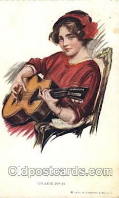 xrt009043 - Earl F. Christy, (US) Artist Signed Postcard Postcards