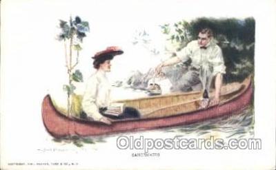 xrt009b018 - Artist Signed Howard Chandler Christy, Postcard Postcards
