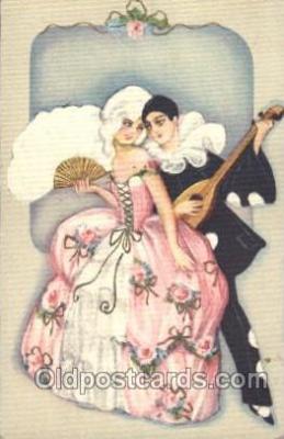 Sofia Chiostri, (Fofi) (Italy) Artist Signed Postcard Post Card