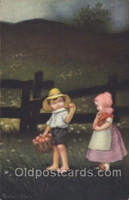 xrt011064 - E. Columbo (Italy) Artist Signed Postcard Postcards