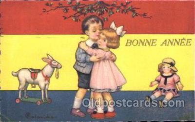 xrt011082 - E. Columbo (Italy) Artist Signed Postcard Postcards