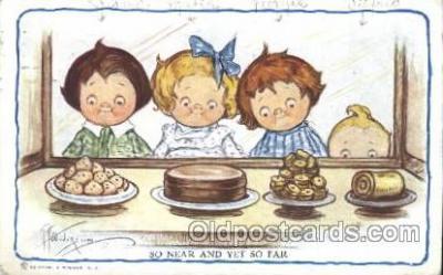 xrt014065 - Artist Signed Grace Wiederseim / Drayton Postcard Postcards