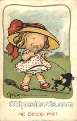 xrt014141 - Artist Signed Grace Wiederseim / Drayton Postcard Postcards