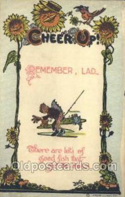 xrt015083 - Cheer Up!! Series Artist Dwig, Dwiggens, Postcard Post Cards