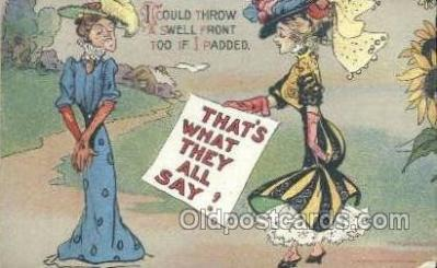 xrt015086 - That's what they all say! Artist Dwig, Dwiggens, Postcard Post Cards