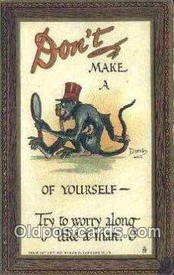 xrt015255 - Dwig Postcard Dwiggens Post Card Artist Signed Old Vintage Antique