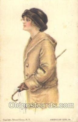 xrt018016 - Alice Luella Fidler (USA) Artist Signed Postcard Postcards