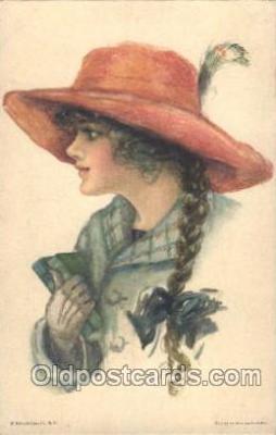 xrt018059 - Alice Luella Fidler (USA) Artist Signed Postcard Postcards