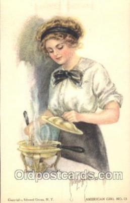 xrt018075 - Alice Luella Fidler (USA) Artist Signed Postcard Postcards