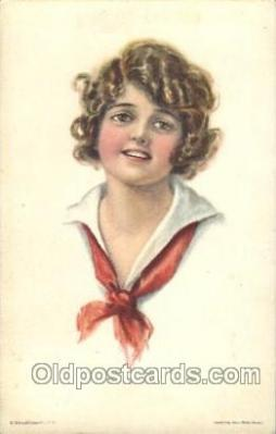 xrt018090 - Alice Luella Fidler (USA) Artist Signed Postcard Postcards