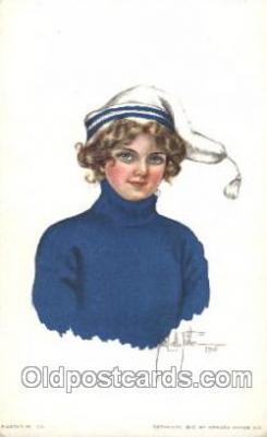 xrt018110 - Alice Luella Fidler (USA) Artist Signed Postcard Postcards