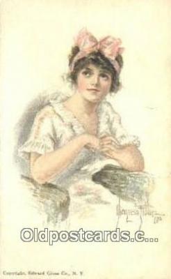 xrt018127 - Artist Alice Fidler Postcard, Post Card Old Vintage Antique