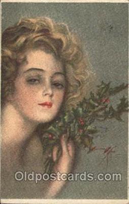 xrt021186 - Artist Signed Harrison Fisher Postcard Postcards