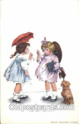 Artist Bessie Pease Gutmann Postcard Post Cards
