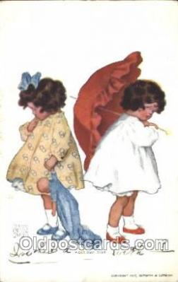 Artist Bessie Pease Gutmann, Postcard Post Card