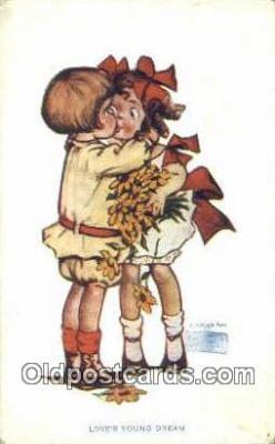 xrt022069 - Artist Gassaway, Katharine Postcard Post Card Old Vintage Antique