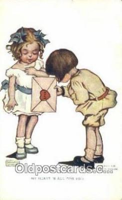 xrt022079 - Artist Gassaway, Katharine Postcard Post Card Old Vintage Antique