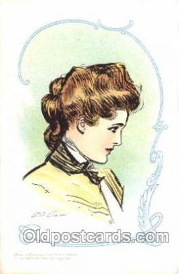 xrt023001 - Artist Signed Charles Dana Gibson, Postcard Postcards