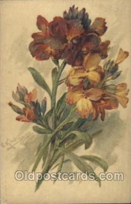 xrt035108 - Artist Signed Catherine Klein Postcard Postcards