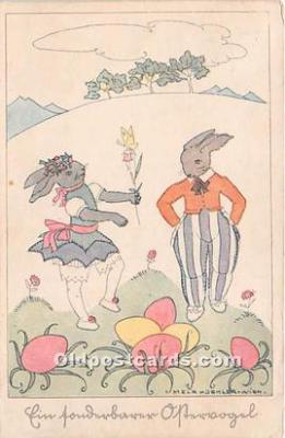 Artist Signed Mela Koehler Postcard