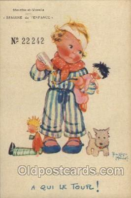 xrt040005 - Artist Signed Beatrice Mallet Postcard Postcards