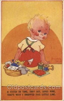 xrt040008 - Artist Signed Beatrice Mallet Postcard Postcards
