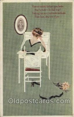 Artist Coles Phillips Look Alike  Postcard Post Card