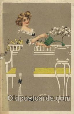 Artist Un- Signed Coles Phillips, Postcard Post Card