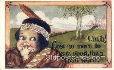xrt071213 - Artist Shinn, Cobb Postcard Post Card, Old Vintage Antique