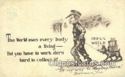 xrt071291 - Artist Shinn, Cobb Postcard Post Card, Old Vintage Antique
