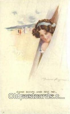 xrt075015 - Artist Spurgin, Fred Postcard Post Card, Old Vintage Antique