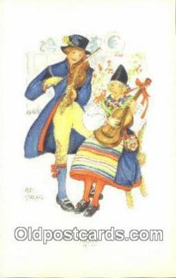 xrt077017 - Artist Aina Stenberg Postcard Post Card, Old Vintage Antique
