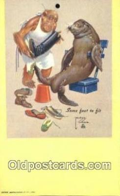 Artist Wood, Larson Postcard Post Card
