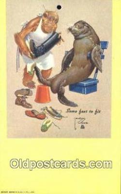 xrt089032 - Artist Wood, Larson Postcard Post Card Old Vintage Antique