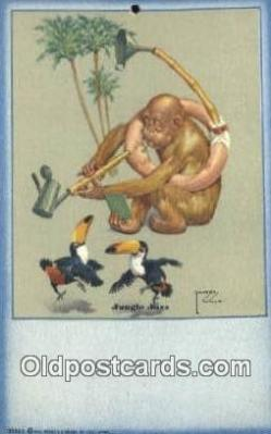 Artist Larson Wood Postcard Post Card