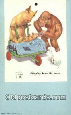 xrt089037 - Artist Larson Wood Postcard Post Card Old Vintage Antique