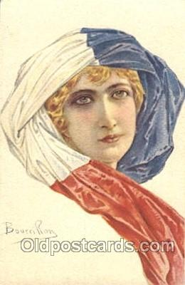xrt093003 - Bourrillon (Italy) Artist Signed Postcard Postcards