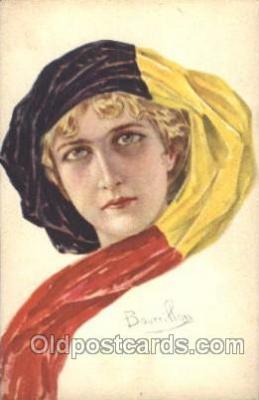 xrt093006 - Bourrillon (Italy) Artist Signed Postcard Postcards