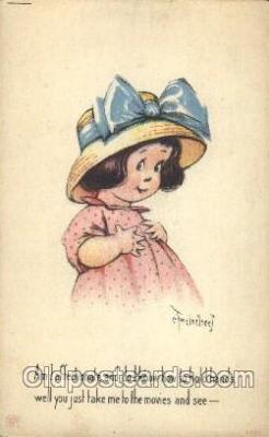 Artist Twelvetrees Postcard Post Card