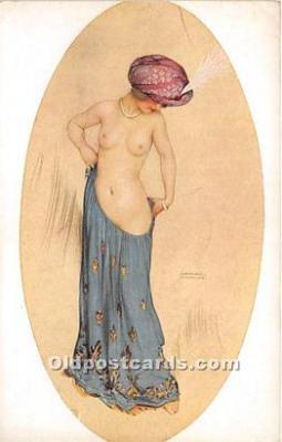 xrt096151 - Artist Raphael Kirchner Old Vintage Postcard