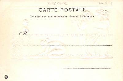 xrt096188 - Artist Raphael Kirchner Old Vintage Postcard  back