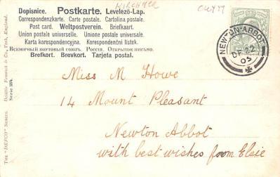 xrt096199 - Artist Raphael Kirchner Old Vintage Postcard  back